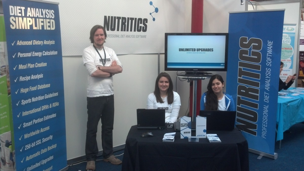 Nutritics Exhibiting at the RDS, Dublin
