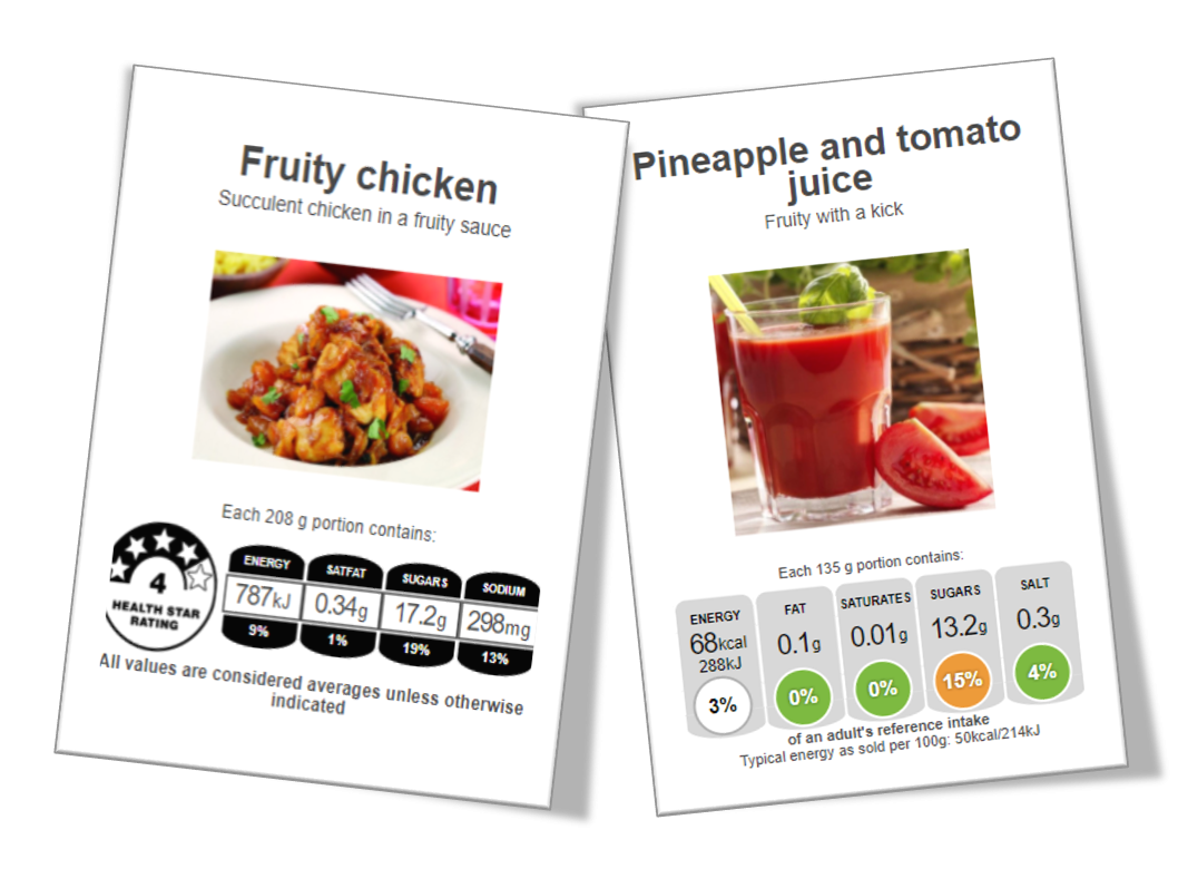 Front of Pack Labelling: Nutritics is here to help!