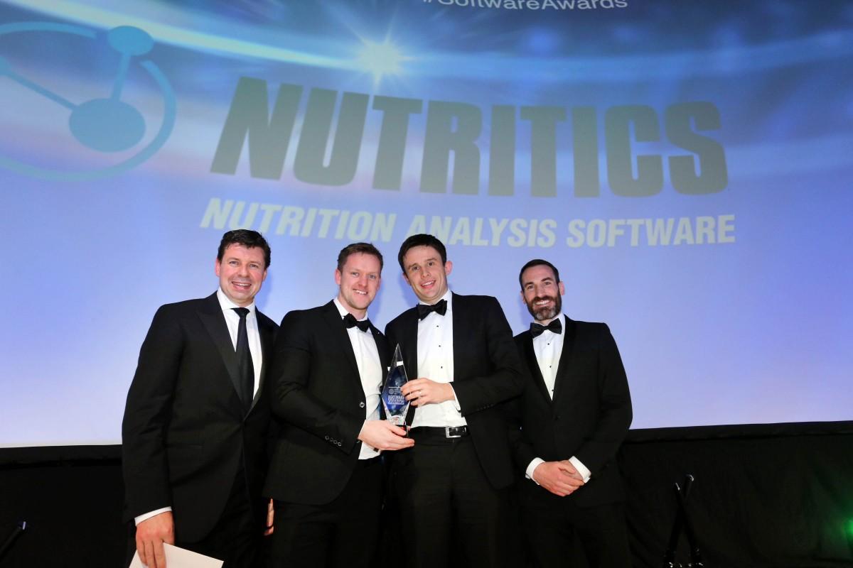 Nutritics Wins Major Technology Award
