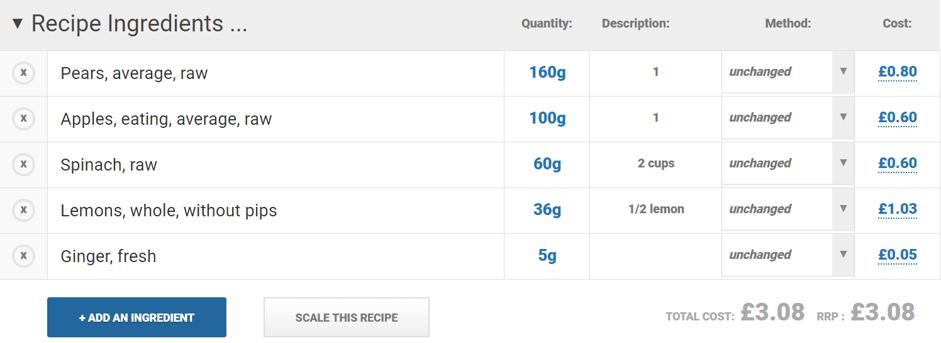 nutritics cost blog