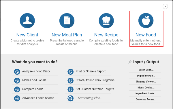 adding new foods to the database nutrition analysis tutorials