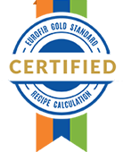 gold standard recipe calculation accreditation, nutritics accrediation, nutritics review